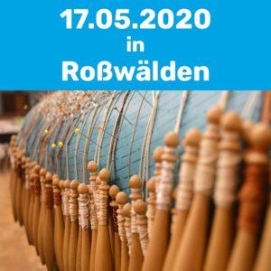 Klöppelkurs am 17.05.2020 in Roßwälden.