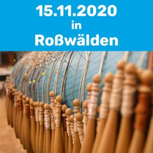 Klöppelkurs am 15.11.2020 in Roßwälden.