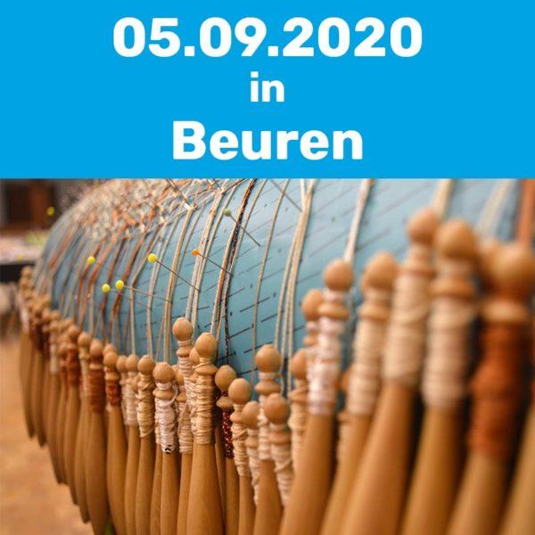 Klöppelkurs am 05.09.2020 in Beuren.